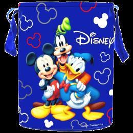 Kuber Industries Disney Cotton Laundry Bag (Waterproof, KUBMART1598, Blue)_1