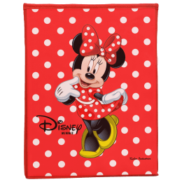 Kuber Industries Disney Minnie Non Woven Fabric Laundry Basket (Foldable Hamper, KUBMART1198, Red)_1