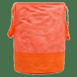 Kuber Industries Laheriya Canvas Laundry Bag (100 Percent Waterproof, CTKTC134628, Orange)_1
