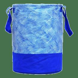 Kuber Industries Laheriya Canvas Laundry Bag (100 Percent Waterproof, CTKTC134625, Blue)_1