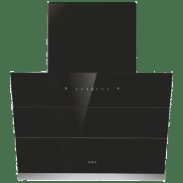 Elica HAC VMS PLUS 1100 m³/hr 60cm Filterless Chimney (Auto Clean, EFL-S601, Black)_1