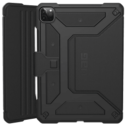 UAG Metropolis Thermoplastic Polyurethane, Felt Lining, Polyurethane Flip Case For iPad Pro 11 Inch (Feather-Light Composite Construction, UGMP_IPD11PG2_BK, Black)_1