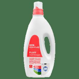 IFB Essentials Fluff Liquid Detergent for Front Load Washing Machines (1 Litre, Fluff liquid Deter, White)_1