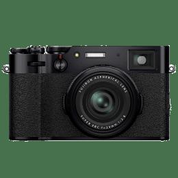 Fujifilm X-100V 26.1MP Mirrorless Camera (Built-in Lens, Color Chrome Effect, 16643036, Black)_1