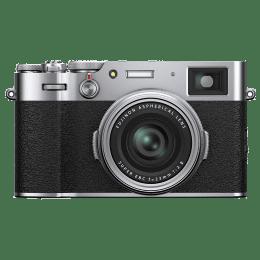 Fujifilm X-100V 26.1MP Mirrorless Camera (Built-in Lens, Color Chrome Effect, 16642965, Silver)_1
