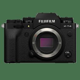 Fujifilm X-T4 26.1MP Mirrorless Camera (Weather-sealed Body, 16650467, Black)_1