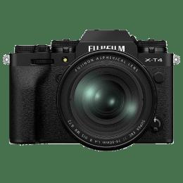 Fujifilm X-T4 26.1MP Mirrorless Camera (Built-in Lens, Weather-sealed Body, 16651136, Black)_1