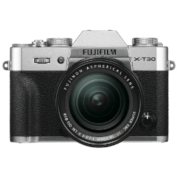 Fujifilm X-T30 26.1MP Mirrorless Camera (Built-in Lens, Color Chrome Effect, 16619839, Silver)_1