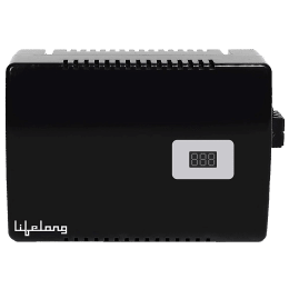 Lifelong 160-280V Air Conditioner Voltage Stabilizer for up to 1.5 Ton (LLVST400, Black)_1