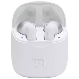 JBL Tune In-Ear Truly Wireless Earbuds with Mic (Bluetooth 5.0, Rechargeable Battery, T225 TWS, White)_1