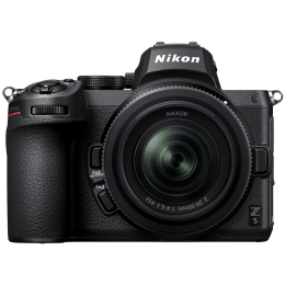 Nikon Z 5 24.3MP Mirrorless Camera (Single Lens Kit, Diopter Adjustment, VOK040ZN, Black)_1
