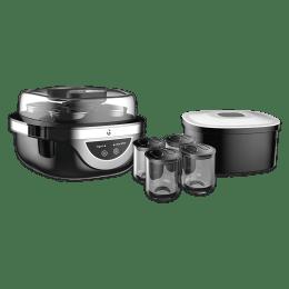 iGear 20 Watts Dahi Maker (4 Lid Glass Jars, iG–1006, Black)_1