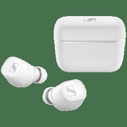 Sennheiser CX 400BT In-Ear Truly Wireless Earbuds with Mic (Bluetooth 5.1, Minimalist Design, 508901, White)_1