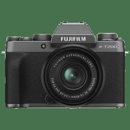 Fujifilm 24.2MP Mirrorless Camera (15-45mm Lens, Copper-Wiring Structure, X-T200, Black)_1