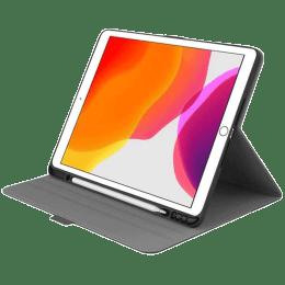 Cygnett Tekview Micro-Fibre Slim Case For iPad 10.2 Inch (Textured Grip System, CY3049TEKVI, Grey)_1