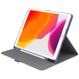 Cygnett Tekview TPU Slim Case For iPad 10.2 Inch (Textured Grip System, CY3064TEKVI, Purple)_1