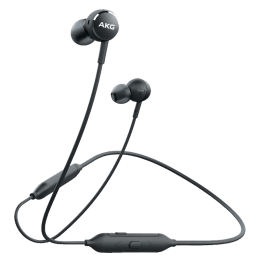 Samsung AKG Y100 In-Ear Wireless Earphone with Mic (Multi-Point Connectivity, GP-Y100HAHHBAD, Black)_1