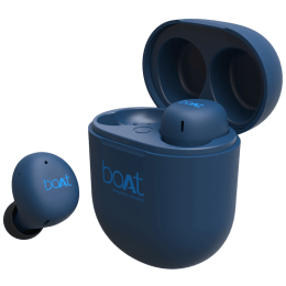 Boat Airdopes In-Ear Truly Wireless Earbuds with Mic (Bluetooth 5.0, 383, Blue)_1