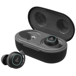 Boat Airdopes 443 In-Ear Truly Wireless Earbuds with Mic (Bluetooth 5.0, Water Resistant, Black)_1