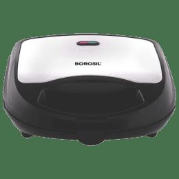 Borosil Neo 700 Watts 2 Slices Automatic Sandwich Maker (BSM70NDS15, Silver)_1