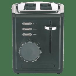 Borosil Krispy 850 Watts 2 Slice Automatic Pop-Up Toaster (Bread Slice Centering, BTO850WSS21, Silver)_1