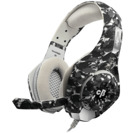 Cosmic Byte Over-Ear Wired Gaming Headset with Mic (GS410, Camo Black)_1