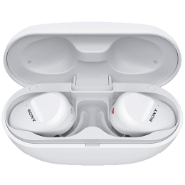 Sony In-Ear Truly Wireless Earbuds with Mic (Bluetooth 5.0, WF-SP800N, White)_1