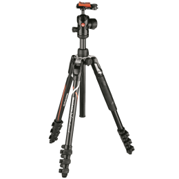 Manfrotto Befree Advanced 151 cm Tripod For Sony Alpha Cameras (Up to 8Kg, MKBFRLA-BH, Black)_1
