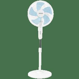 Usha Pentacool 40cm 5 Blade Pedestal Fan (With Copper Motor, 131022741, White)_1