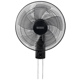 Usha Pentacool 40cm 5 Blade Wall Fan (With Copper Motor, 141022790, Black)_1