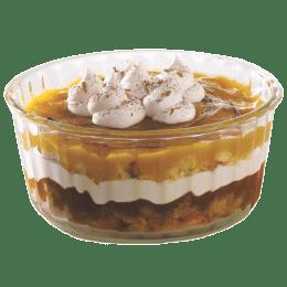 Borosil Souffle Dish for Microwave, Fridge, Dishwasher (Borosilicate Glass, IH22DH01215, Transparent)_1