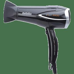 BaByliss 3 Setting Expert DC Hair Dryer (Energy Saving, D342E, Black)_1