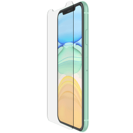 Belkin Screenforce Tempered Glass Screen Protector For Apple iPhone 11 (Anti-Fingerprint, F8W948ZZ, Clear)_1