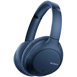 Sony Over-Ear Wireless Headphone with Mic (Dual Noise Sensor Technology, WH-CH710N, Blue)_1