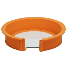 Wonderchef Pavoni Easycake Silicone Ring (Good Elasticity, 63152922, Orange)_1