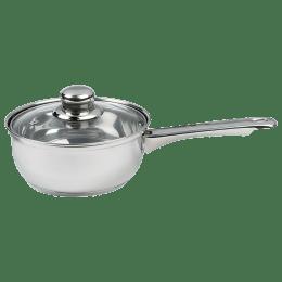 Sabichi Saucepan with Glass Lid (20cm, 93752, Silver)_1