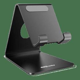 Portronics MoDesk Universal Stainless Steel Phone Holder (POR 122, Black)_1