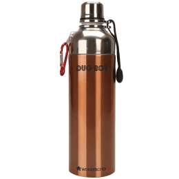 Wonderchef Duo Bot 1 Litre Bottle (Easy Slip, 63153157, Copper)_1