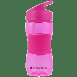 Wonderchef Sippy 350 ml Water Bottle (BPA-free, 63152695, Pink)_1