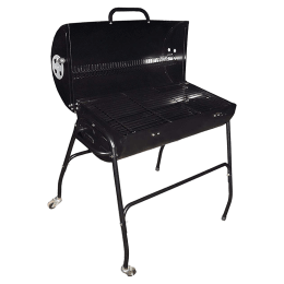 Peng Essentials Charcoal Barbeque Grill with Wheels (PNGBRB03, Black)_1