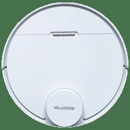 Milagrow iMap 10.0 50 Watts Robotic Vacuum Cleaner (0.45 Litres Tank, White)_1