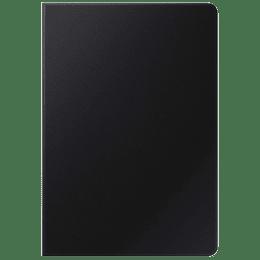 Samsung Plastic Book Cover for Galaxy Tab S7 (Sleek Design, EF-BT870PBEGIN, Black)_1
