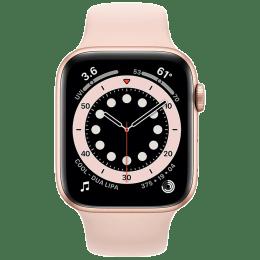 Apple Watch Series 6 Smartwatch (GPS+Cellular, 44mm) (Blood Oxygen Sensor, MG2D3HN/A, Gold/Pink Sand, Sport Band)_1