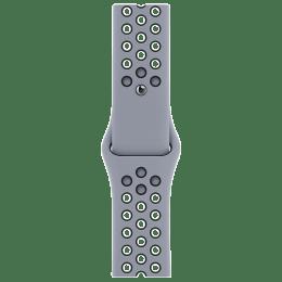 Apple Nike Sport Strap For Apple Watch 44 mm (MG403ZM/A, Obsidian Mist/Black)_1