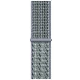 Apple Nike Sport Loop Strap For Apple Watch 40 mm (MGQH3ZM/A, Obsidian Mist)_1
