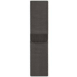 Apple Milanese Loop Strap For Apple Watch 40 mm (MYAN2ZM/A, Graphite)_1