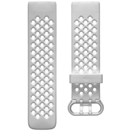 Fitbit Sport Large Strap For Fitbit Charge 4 (FB168SBWTL, Frost White)_1