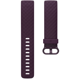 Fitbit Classic Small Strap For Fitbit Charge 4 (FB168ABBYS, Rosewood)_1