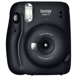 Fujifilm Instax Mini 11 Mega Pack Instant Camera Kit (Real Image View Finder, IC0118, Charcoal Grey)_1
