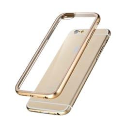Capdase Alumor Plastic Bumper Back Case Cover for Apple iPhone 6 (MBIH647-01H2, Gold)_1